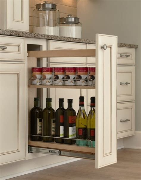 pull out kitchen storage ideas kitchen storage turn a filler panel into a pull out cabinet hometalk
