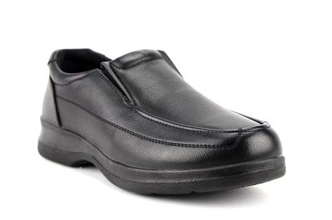 s black brown slip on restaurant work shoes slip