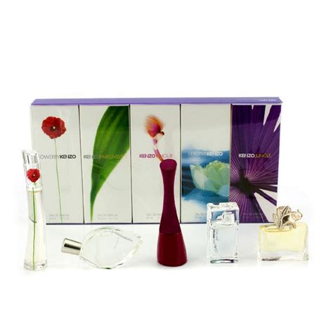 Miniature Kenzo Flower kenzo miniature coffret amour flower jungle l eau par kenzo parfum d ete fresh