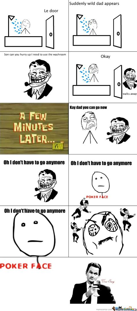 rage comic memes le papa meme comics comic rage comics and