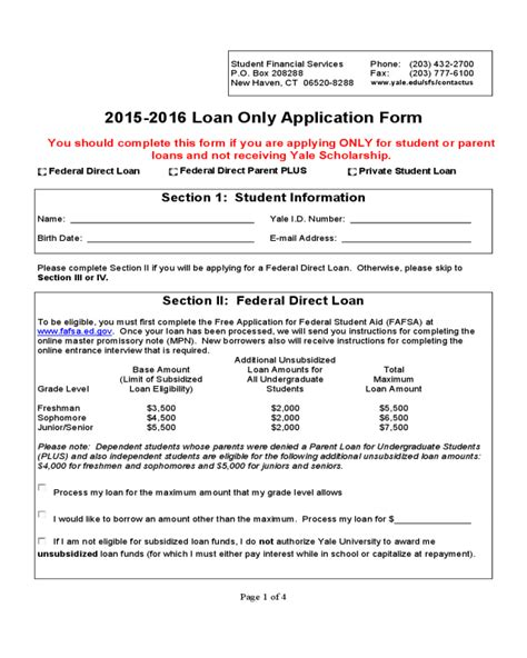 students loan application form 2018 student loan application form fillable printable