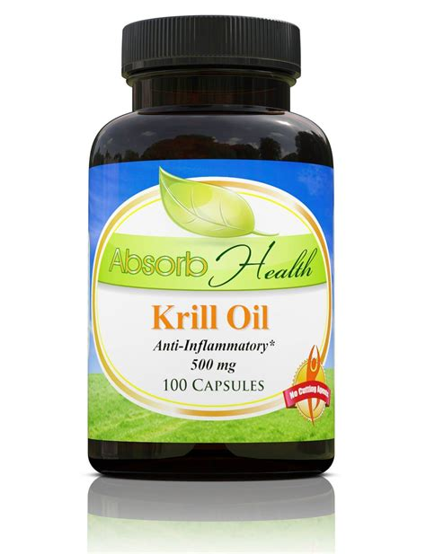 Suplemen Krill Buy Krill Capsules Reduce Inflammation Now