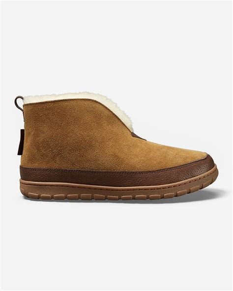 eddie bauer mens slippers eddie bauer s shearling boot slippers shopstyle