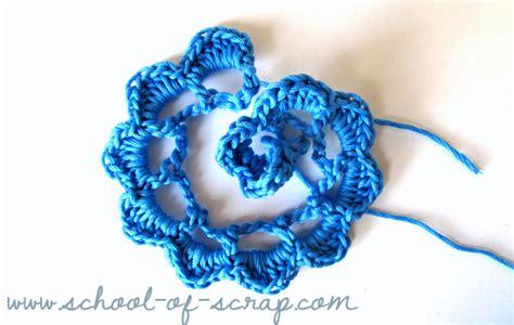 come si fa un fiore all uncinetto come fare una rosa all uncinetto mamma felice