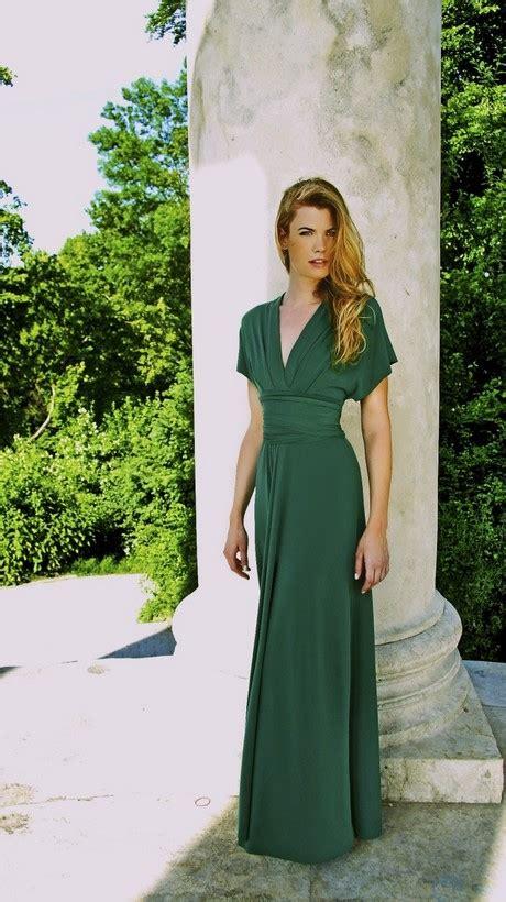 langes abendkleid gruen