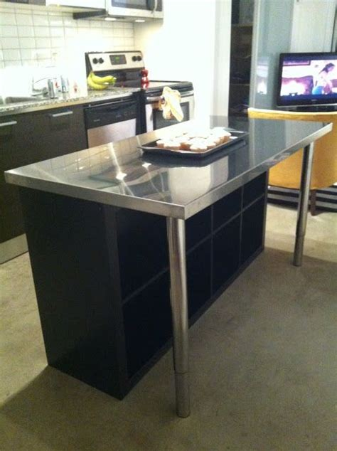 stainless steel kitchen island ikea condo island house stuff ikea ikea hack and ikea hackers