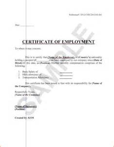 Certification Letter Employer certificate of employment example certificate of employment jpg