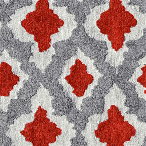 ethnic gray and red rug by pop accents rosenberryrooms com ethnic gray and red rug by pop accents rosenberryrooms com