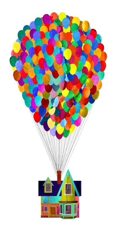 disney printable up house with balloons disney s up house by foreverwars fingerprint balloons