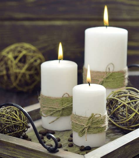 candle decorating ideas with ribbon 17 diy decorated candle ideas you ll craftsonfire