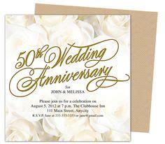 50th wedding anniversary invitation cards templates 50th anniversary invitation golden invite 50th