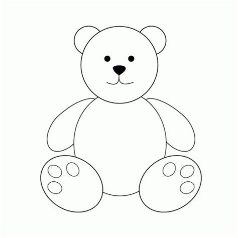 imagenes para dibujar ositos siluetas de osos para colorear imagui