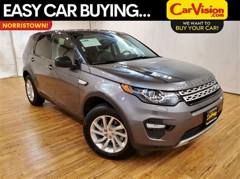 pre owned  land rover discovery sport hse navigation