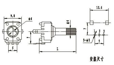variable resistor b203 variable resistor b203 25 images rv24yn15s b203 carbon potentiometers rv24 series
