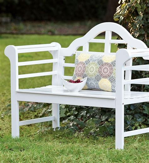 all weather garden bench all weather solid wood lutyens garden bench collection