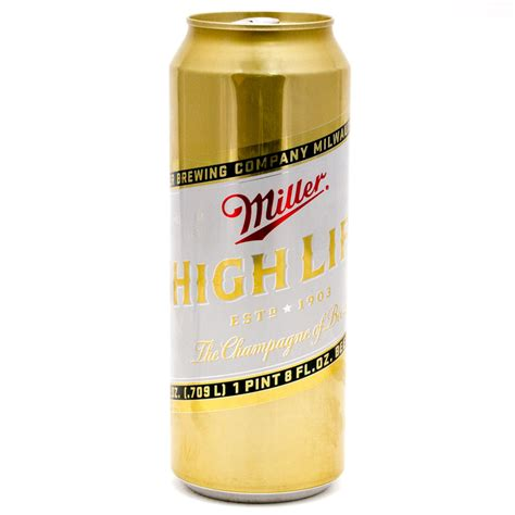 Miller High Lite by Miller High 24oz Can Wine And Liquor