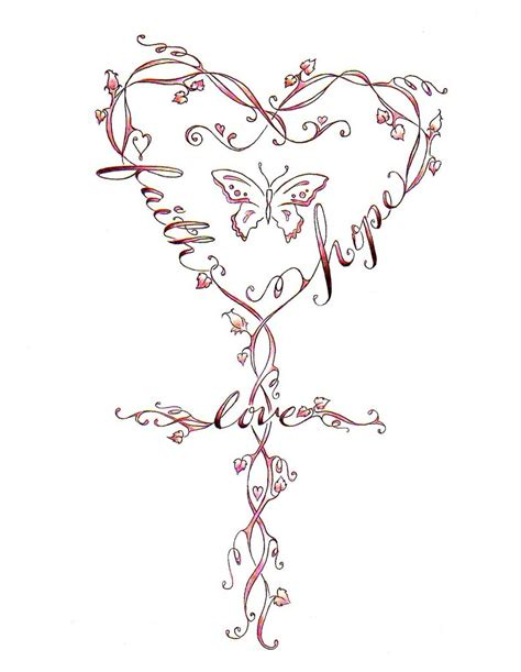cross butterfly tattoo faith tattoos designs ideas and meaning tattoos for you