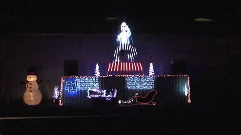 chico nut christmas light show farmer style 2013 youtube