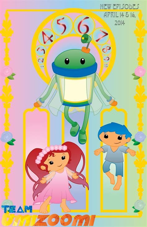 umizoomi painting team umizoomi nouveau poster by chameleoncove on
