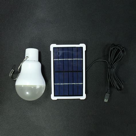 Solar Powered Landscape Lighting System Outdoor Indoor Solar Powered Led Lighting System Light L Led Bulb Solar Panel Low Power C
