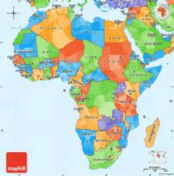 Political Africa Map by Gallery For Gt Political Africa Map