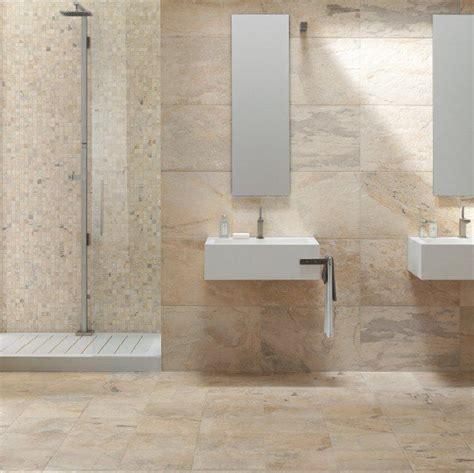 natursteinfliesen wand keramische leisteen imitatie in de badkamer in 40x60 op de