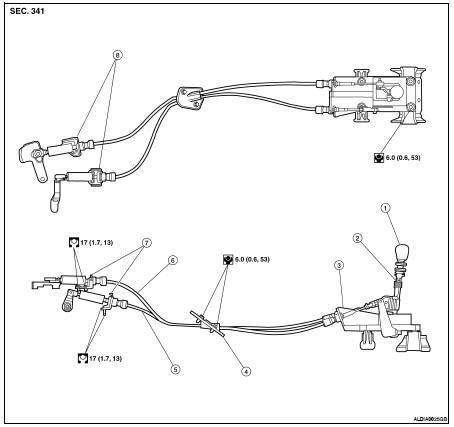 car maintenance manuals 1998 nissan altima transmission control nissan altima 2007 2012 service manual control linkage