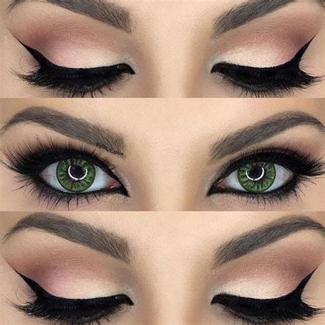 cena eye color cat eye makeup how to do cat step by step in minutes