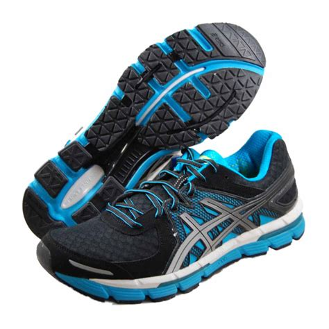 asics womens gel excel33 black running shoes t271n 9093 ebay