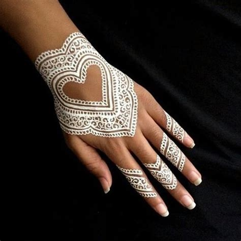 white ink henna tattoo white henna tattoos are the trend in temporary ink