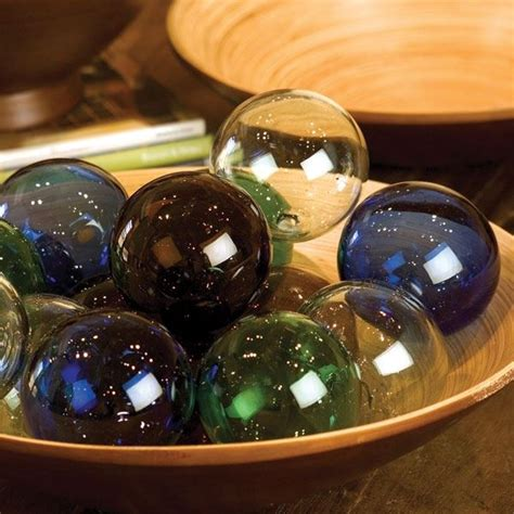 recycled glass balls recycled glass spheres 16 new bambeco products glass and artwork