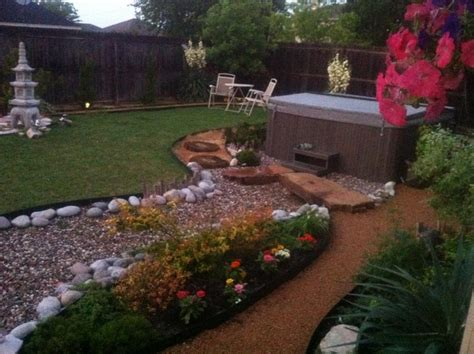 Backyard Spa Landscaping Ideas Tub Installation Photo Jpg 855 215 639 Pixels For The Home Pinterest Tubs And