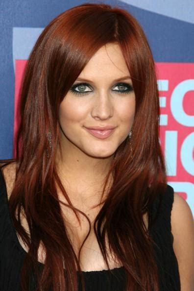 rust colored hair hair color nail styling