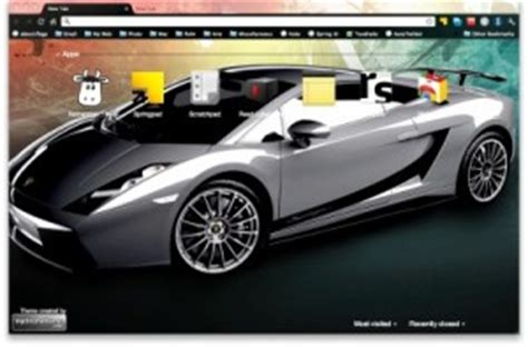 google themes of cars rev up your browser with some google chrome car themes