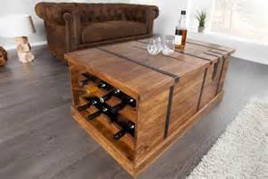 table basse en bois massif palissandre avec rangement de