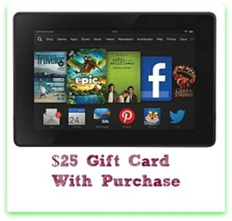 Where Can I Get A Kindle Gift Card - staples free 25 staples gift card with tablet purchase southern savers