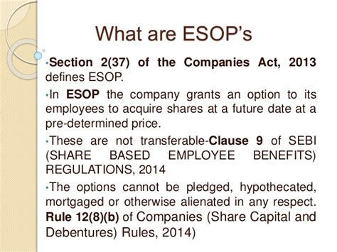 section 37 planning act employee stock option plan ppt