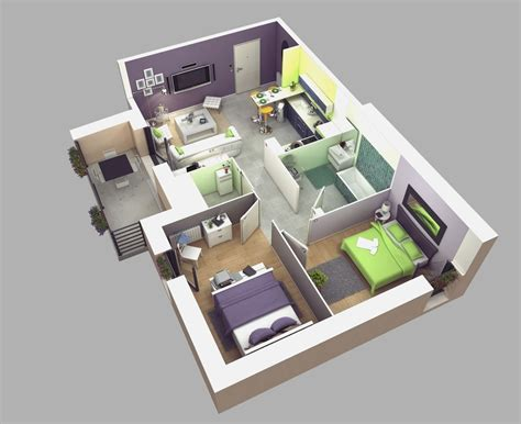 easy 3d home design free small house design 3d 2 bedrooms small bedroom