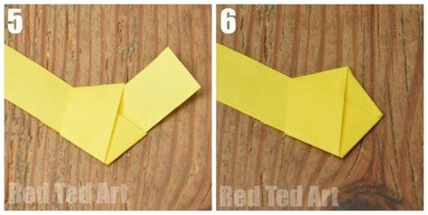 How To Make Lucky Origami - how to make an origami lucky ted s