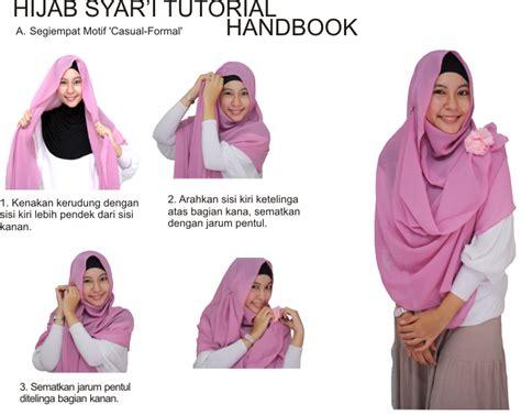 tutorial hijab simple dan menutup dada tutorial hijab menutup dada