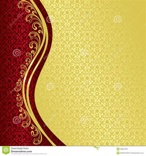 luxury background decorated  vintage ornament stock