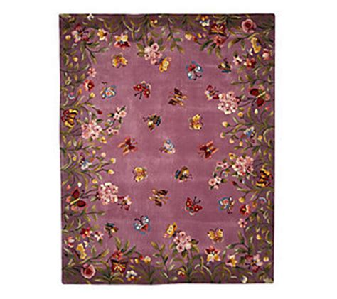 Royal Palace Rugs Qvc by Royal Palace Butterfly Harmony 7 X 9 Handmade Wool Rug