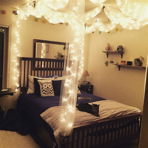 diy bed canopy  lights bed lights bed canopy
