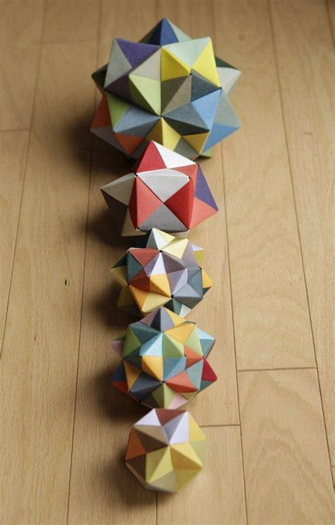 origami with lined paper the 25 best origami cube ideas on origami