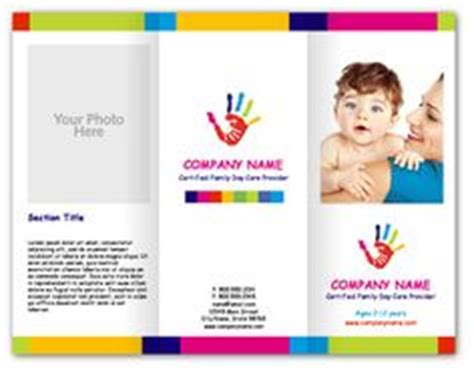 child care brochure templates free 1000 images about the is here on sign in