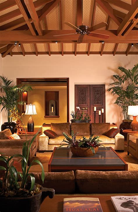 tropical living rooms luxury dream home design at hualalai by ownby design