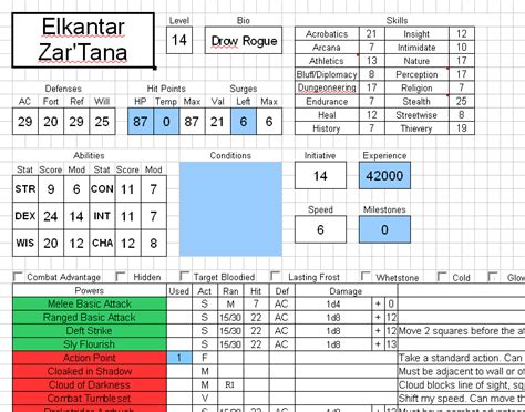4e ability cards template guide dnd 4e what is a pdf excel app to use to create a
