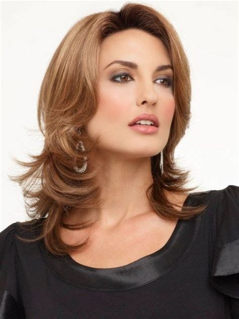 wigs for square faces latest medium length hairstyles for square faces a square