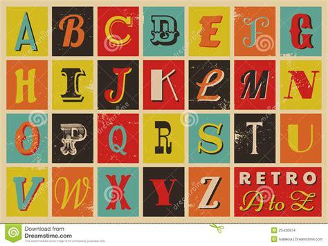 imagenes retro soda letra alfabeto retro do estilo imagens de stock imagem 25430974