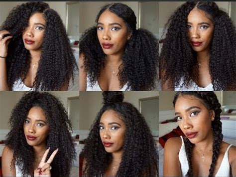 different styles or ways to fix human hair different ways to style your wig ft rpgshow curly wig